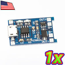 Enhanced Micro USB 1A Lithium Battery Backup Lipo Charger Module Arduino 18650