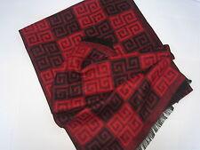 Mongolian cashmere pashmina coton plaid hommes homme écharpe-chine rouge