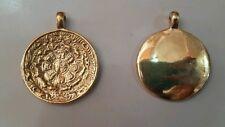 Tibetan buddhism handmade melong / mirror / calendar/brass/2 piece wholesale set