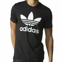 Adidas Originals Mens Tshirt 3 Stripes California Short  Sleeve Crew Neck S L XL