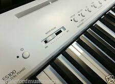 KAWAI ES100W WHITE Digital PIANO NEW @ CarlingfordMusic