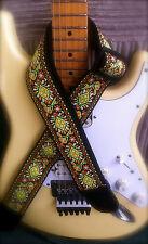 Jimi Hendrix design guitar strap - Ideal xmas gift present - Bargain!