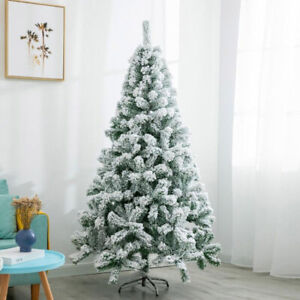 Bushy Snow White Christmas Tree Xmas Home Decorations Desktop Decorations