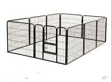 Box recinto per cane cani cuccioli Recinto per canii roditori H100 x 80cm 8 pz