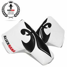 White Trident Golf Blade Putter Head Cover Club Protect Case for Scotty Cameron