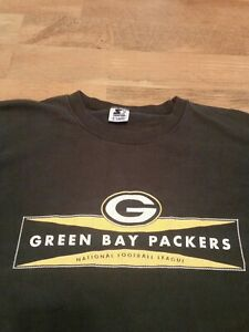 Vintage NFL Green Bay Packers Starter Longsleeve Shirt, Size XL, Made In The USA