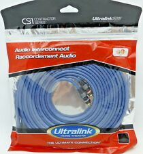 UltraLink Contractor Series CS1-6M RCA Audio Interconnect Cables 6 meter pair