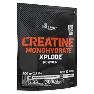 OLIMP Creatine Monohydrate Xplode Powder 500g MICRONIZED CREATINE MONOHYDRATE