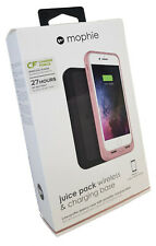 Mophie iPhone 8 / 7 Juice Pack Wireless & Charging Base Cover Case - Rose Gold