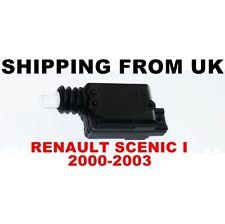 Bloqueo Central Motor Puerta Cerradura Actuador Para Renault Scenic Mk1 me 2000-2003