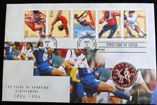 1996 CLAD PROOF USA 1/2 DOLLAR COIN WOMEN'S FOOTBALL ATLANTA OLYMPICS PNC