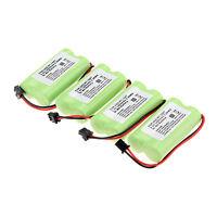 4pcs 1400mAh 2.4v Home Use Cordless Phone Battery For Uniden BT-1007 BT1007 Set