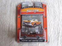 Greenlight:   2006 Muscle Car Garage:  Custom 1967 Pontiac GTO NIP