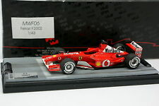 Microworld Factory Built 1/43 - F1 Ferrari F2002 Schumacher 2001