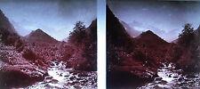 Photographie Col du Grand-Saint-Bernard col du Mont-Joux c1920 cascade ruisseau