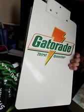 Gatorade clip board