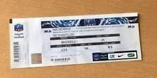 @ TICKET - PARIS PSG - MONTPELLIER MHSC  - COUPE DE FRANCE CF - 2013-14 @