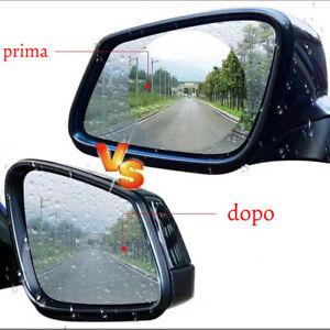 2 Membrane anti pioggia e anti riflesso con nanotecnologia per specchietti auto