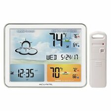 OPENED BOX AcuRite 02081 Home Weather Station with Jumbo Display & Atomic Clock