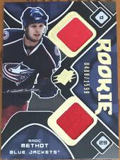 2007-08 SPx Rookie Jersey Marc Methot #187 Columbus Blue Jackets #'d 0488/1599