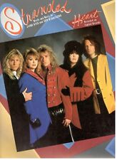 "HEART ""STRANDED"" SHEET MUSIC-PIANO/VOCAL/GUITAR/CHORDS-VERY RARE-NEW ON SALE!!"