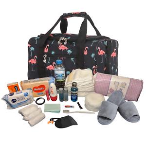 Pre Packed Maternity Hospital Luxury Birth Bag Flamingo Newborn Baby