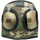 American River Choke Free Green Camo Dog Harness Camouflage Collection - XXS-3XL