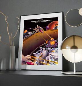 Aztarac 1983 Centuri Arcade Retro Video Game Print Poster