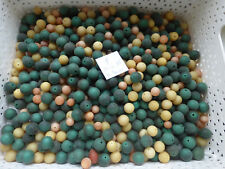 SUPER PROMO au poids 1500 g de perle en acrylique vintage RONDE 19 €