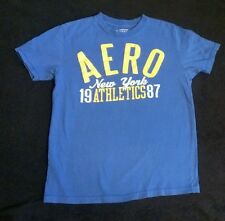 Nice AEROPOSTALE Men's Blue T-Shirt, SMALL. EUC! GREAT DEAL!