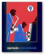 The Last Of The Blue Devils Romare Bearden African American Art Print 20x24
