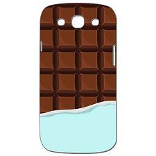 Coque 3 D Téléphone - SAMSUNG GALAXY S3 - TABLETTE DE CHOCOLAT