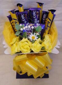 Chocolate Bouquet Daisy Cadburys - Sweet Gift Hamper