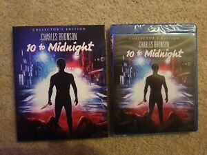 10 To Midnight [Scream Factory Collector's Edition Blu-ray W/ Slipcover].