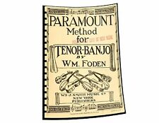Paramount method for tenor-banjo - Reprint - 1922