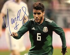 Jonathan Dos Santos Autograph, With Proof, Mexico Signed Poster. ON SALE.