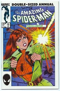 SPIDER-MAN ANNUAL #19 MARVEL Nov 1985 NM+ 9.6 W 1st App ALISTAIRE SMYTHE B/O