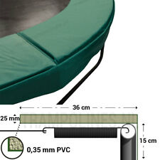 Trampolin randabdeckung Magic jump 425-430 Grün Federabdeckung Randkissen PVC