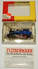 H0 Fleischmann 4033 - BR 91 Dampflok Zahnradlok ELB blau & schwarz OVP
