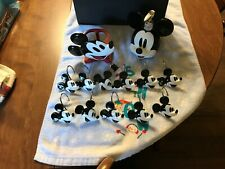 13 pc MICKEY MOUSE (11) Shower Curtain Hooks+(1)Soap Pump+(1)Toothbrush Holder