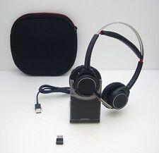 Plantronics Voyager Focus UC B825 Binaural Headband Bluetooth Headset 202652-01