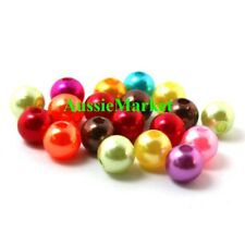 50 x beads imitation pearls mixed ladies girls necklace bracelet children kids