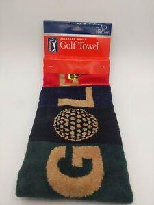 PGA Tour Jacquard Woven Golf Towel