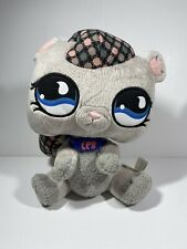 Littlest Pet Shop Gray Squirrel Plush Stuffed Animal Hasbro 2008
