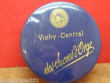 Jolie ancienne boîte en tôle, Vichy - Central
