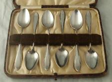 Set Of Six Dutch Solid Silver Teaspoon - Van Kempen