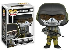 "NEW FUNKO POP! VIDEO GAMES CALL OF DUTY LT SIMON GHOST RILEY 3.75"" VINYL FIGURE"