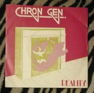 "CHRON GEN REALITY 7"" VINYL RARE PUNK 1981 STEP FORWARD RECORDS"