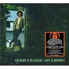 "GILBERT O'SULLIVAN ""LIFE & RHYMES (REMASTERED+BONUSTRACKS)"" CD NEUF"