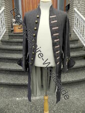 Jack Sparrow Exact Linen Silk Frock Coat Jacket (Out Of Stock)